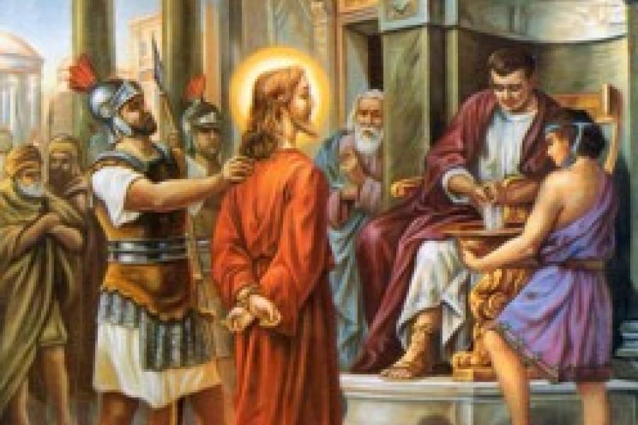 Via Crucis fino a Pasqua - I Stazione