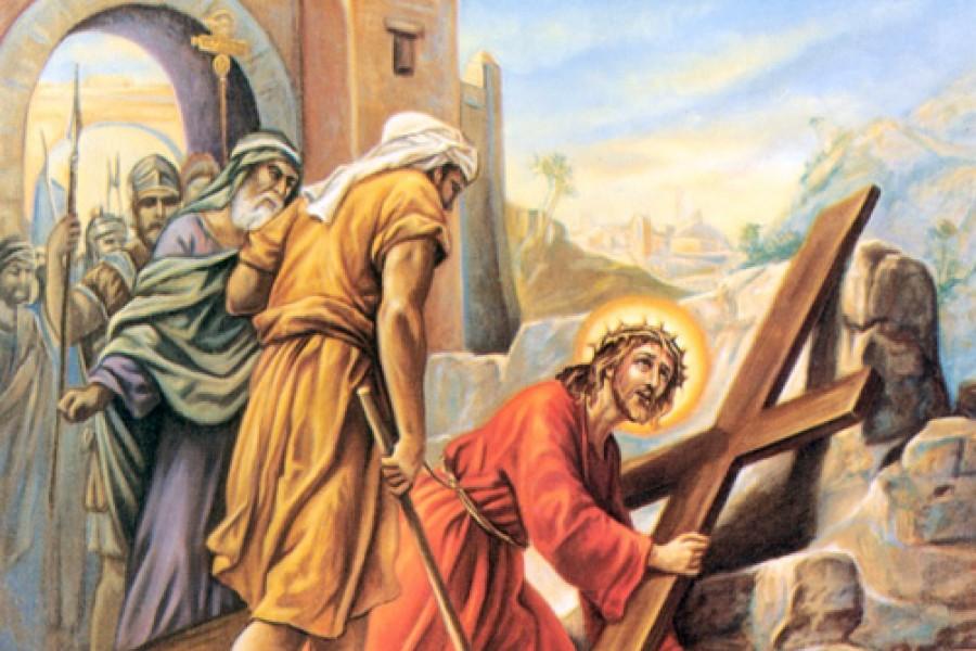Via Crucis fino a Pasqua - III Stazione