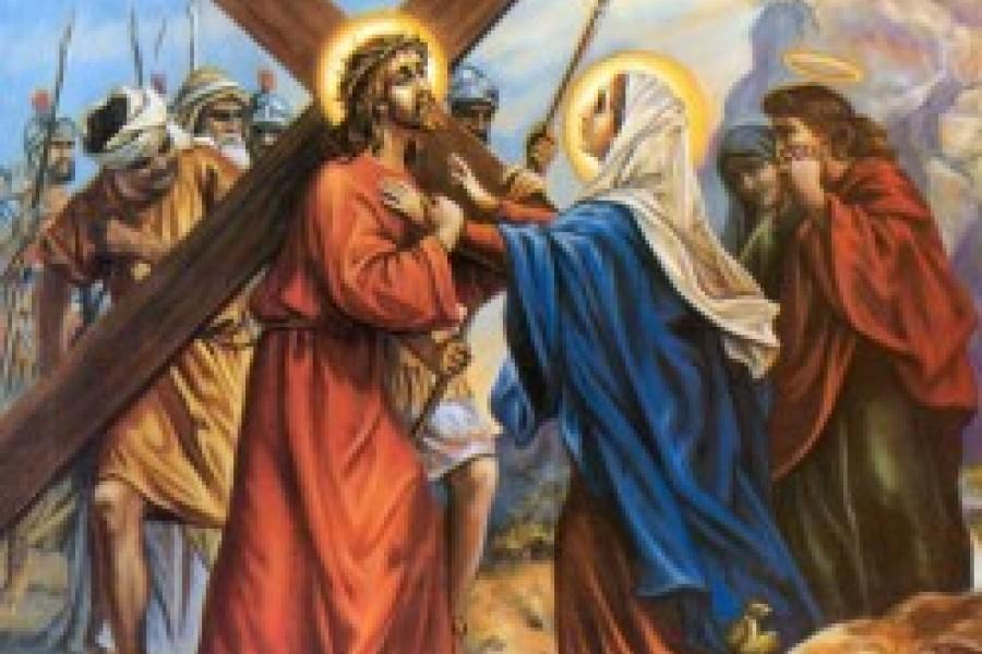 Via Crucis fino a Pasqua - IV Stazione
