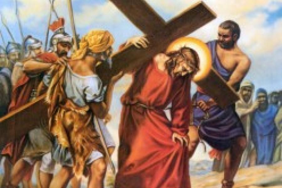 Via Crucis fino a Pasqua - V Stazione
