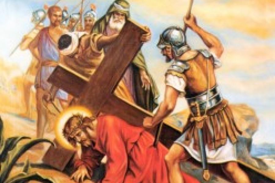 Via Crucis fino a Pasqua - VII Stazione