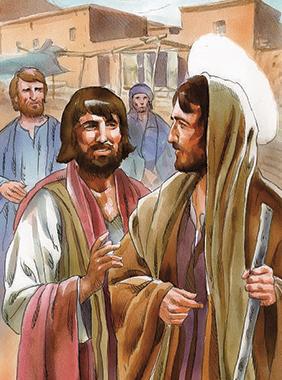 Sulla strada verso Gerusalemme