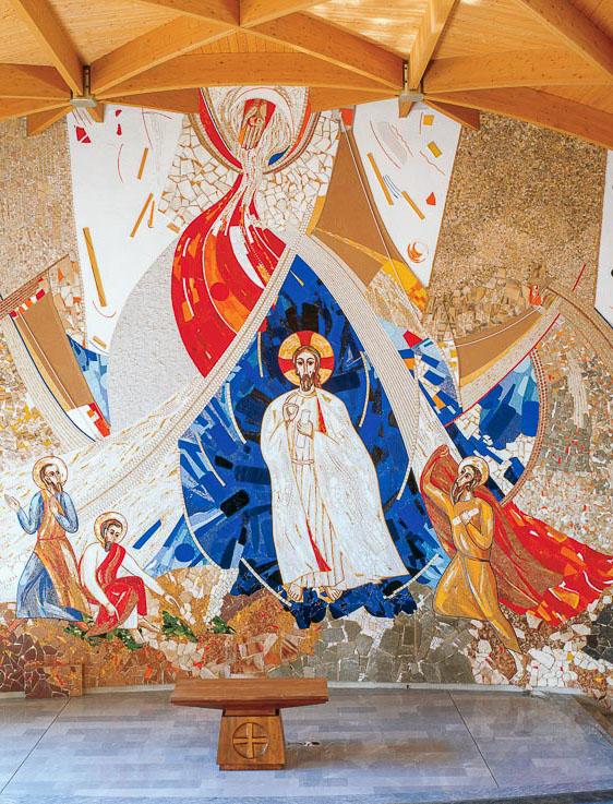 La trasfigurazione del Signore Gesù